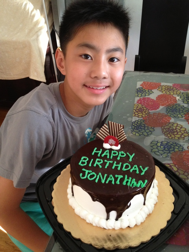 Jonathan's 13th Birthday
